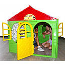 Детский игровой домик пластиковый 120*129*129 см Украина, фото 2