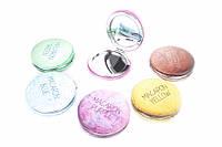 Зеркало для макияжа карманное Macaron Blue