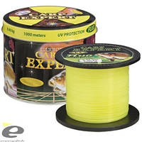 Леска CARP EXPERT 0,25мм Fluo Желтый 1000м