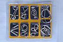 Набор из 8 металлических головоломок (2 мм) в упаковке, фото 5