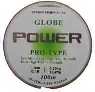 Леска Power Globe 100м 0.255 0.25