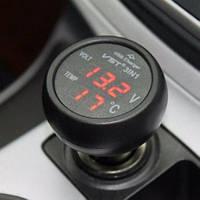 Автомобільний термометр - вольтметр - VST USB 706