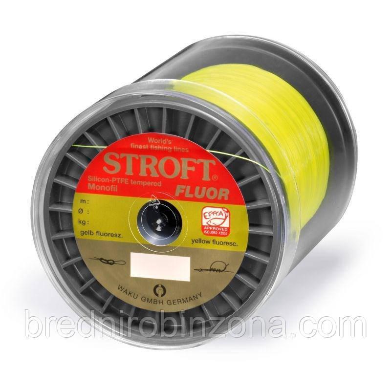 Карповая Леска STROFT fluo Yellow 1000m   0.22 мм - 4,7 кг
