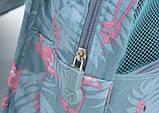 Дорожная сумка-органайзер для косметики подвесная на крючке Фламинго, фото 5