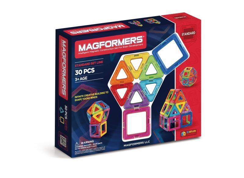 Магнитный конструктор Magformers Базовый набор, 30 элементов (оригинал)