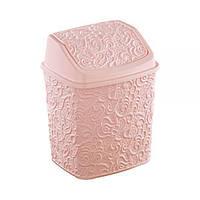 Ведро для мусора Ажур с поворотной крышкой Elif plastik 384-3LF