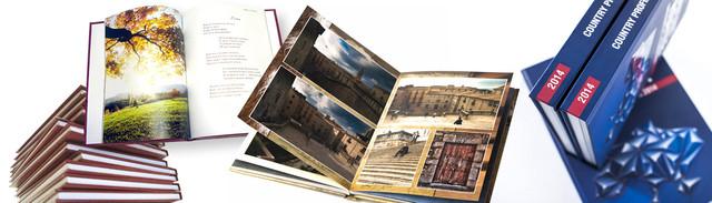Печать книг, каталогов, брошюр, твердый переплет, печреплет книг на клей