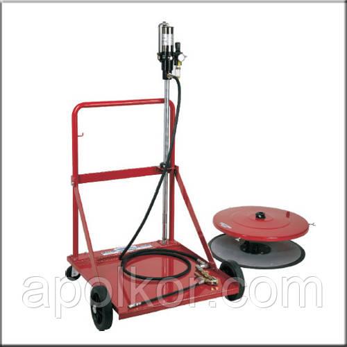 Мобильная установка для пневматической смазки для бочек 180 кг Flexbimec 4990С
