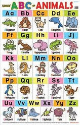Education Charts ABC Animals