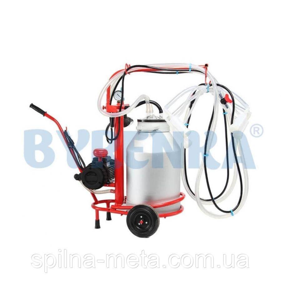 Доильный аппарат для одновременного доения 2-х коз или овец Белка-2 1500