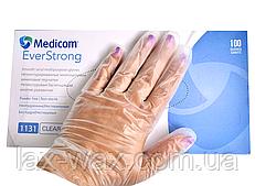 Перчатки виниловые SafeTouch (S)