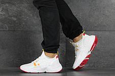 Мужские текстильные кроссовки Nike Air Huarache,белые, фото 3