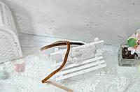 Бархатная лента 1 см. коричневая