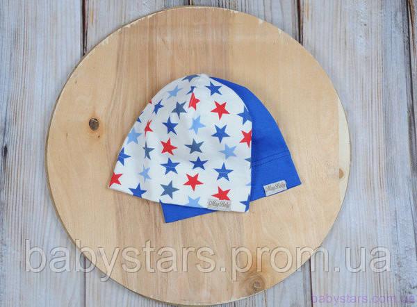 Трикотажные шапочки для малышей