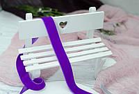 Бархатная лента 2 см. фиолет, фото 1