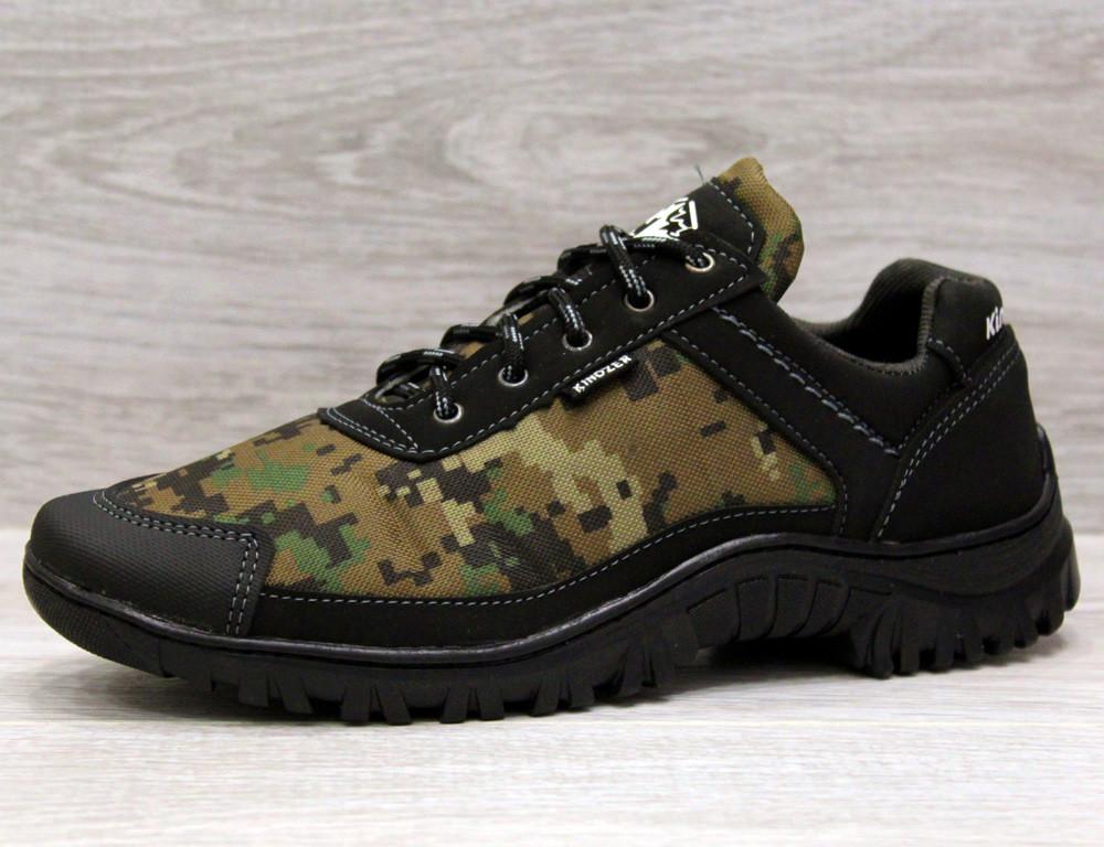 Чоловічі камуфляжні кросівки на протекторної підошві (Кз-16зл)