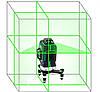 Лазерный 3D нивелир KaiTian [12 линий]☀ЗЕЛЕНЫЙ ЛУЧ☀ до 50м☀ СУПЕРКАЧЕСТВО!