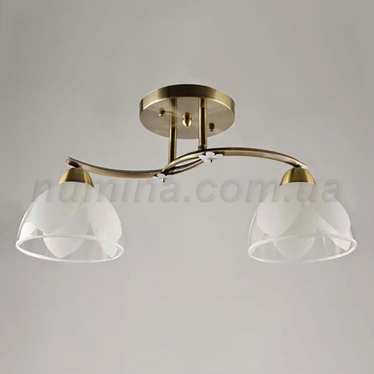 Люстра потолочная на две лампы 14-67328/2 AB