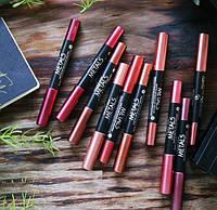 Помада-карандаш Golden Rose Metals Matte Metallic Lip Crayon