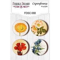 Фишки Botany flowers, FDSC068