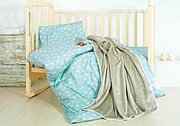 Постельное белье в кроватку с пледом Prince/Princess
