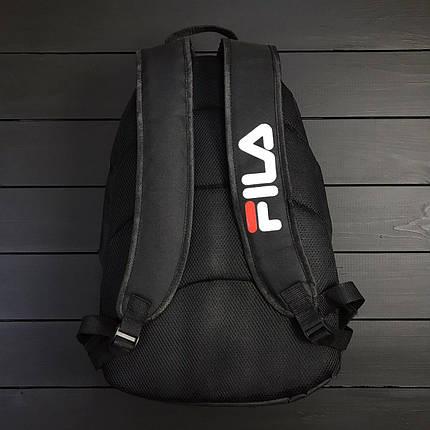 Рюкзак в стиле FILA черный, фото 2