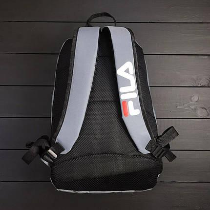 Рюкзак в стиле FILA серый, фото 2