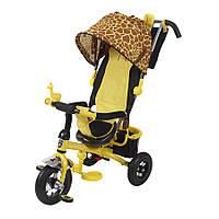 Велосипед трехколесный Mini Trike Жираф надувные колеса