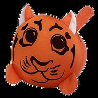 Подушка валик детская Зоо антистрессовая, полистерольные шарики, размер 38*18 см