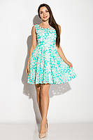 Платье женское 964K040 (Бирюзовый) t-964K040_c137