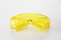 Очки защитные Technics поликарбонатные, желтые линзы.