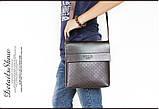 Мужская сумка Polo Kraist коричневая, фото 5