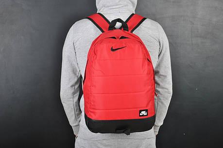 Мужской рюкзак в стиле Nike красный, фото 2