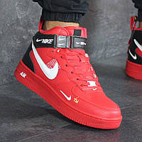 Мужские кроссовки Nike 8195 Красные, фото 1