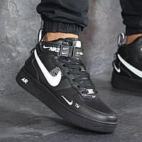 Мужские кроссовки Nike 8193 чёрные, фото 1