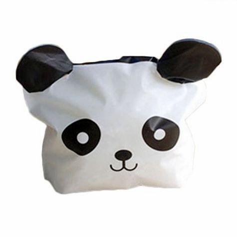 Подарочный пакет Панда 18 х 15 х 3 см