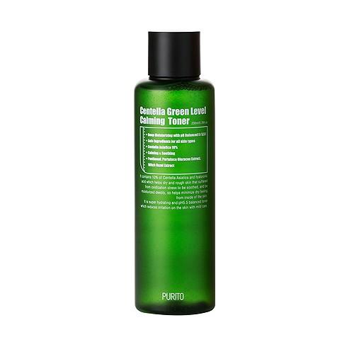 Purito Centella Green Level Calming Toner Бесспиртовый заспокійливий тонер