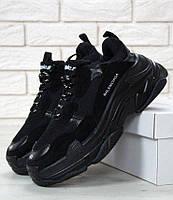 Женские кроссовки Balenciaga Triple S Black