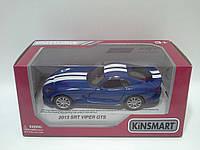 Игра Kinsmart Машина (КТ5363WF) DODGE 2013 SRT VIPER GTS , откр.двери, резиновые колеса, 4 цвета, в