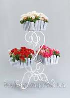 Свадебная подставка для цветов Доллар 3 Кантри