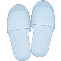 Тапочки махровые с открытым носком эконом