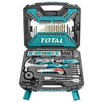 Набор TOTAL THKTAC01120 ручной инструмент, биты, сверла, 120 предм.