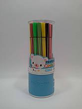 Фломастеры AIHAO-1661-24 цвета в пластиковой колбе. Aihao