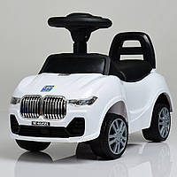 Детская каталка-толокар M 4122L-1 Белый Гарантия качества Быстрая доставка
