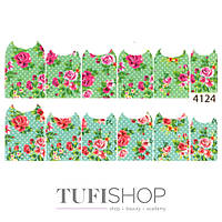 Слайдер дизайн 4124 - цветы
