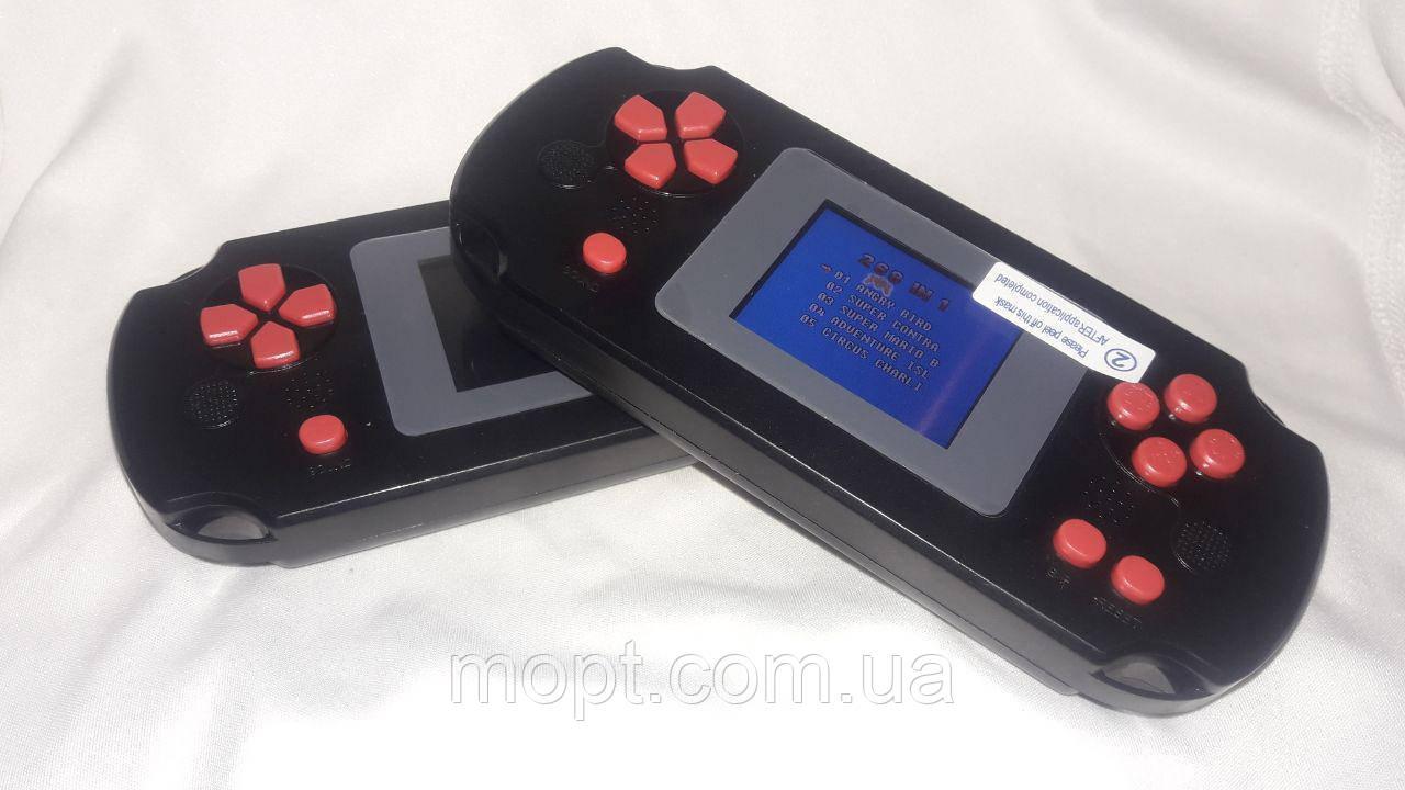 Портативная игровая консоль 268 в 1 игра приставка со встроенными РЕТРО играми МАРИО Танки Контра и пр