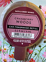 "Аромат в машину ""Клюква"" Bath and Body Works"