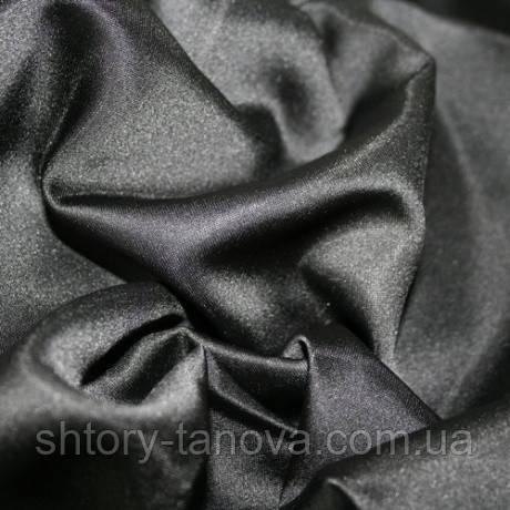 Декор атлас миа черный