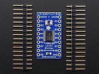 Adafruit 8-ми канальний перетворювач логічніх рівнів 3.3-5В, 5-3.3В