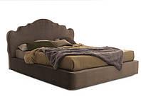 Двуспальная кровать Corona 160*200 с мягким изголовьем и бортами , фото 1